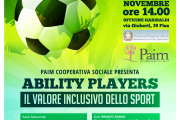 Ability Players - Il valore inclusivo dello sport